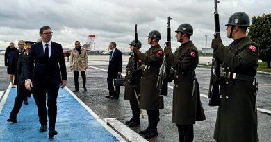 Predsednik Srbije prisustvuje otvaranju Turskog toka