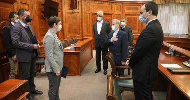 Sa ambasadorom Irana premijerka Srbije razgovarala o odnosima dve zemlje